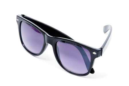 sunglasses isolated on a white background photo