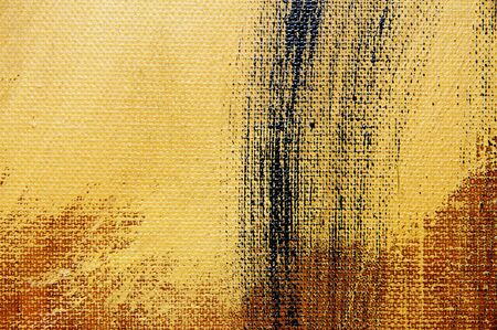 ecru: brushstrokes of different colors on a canvas