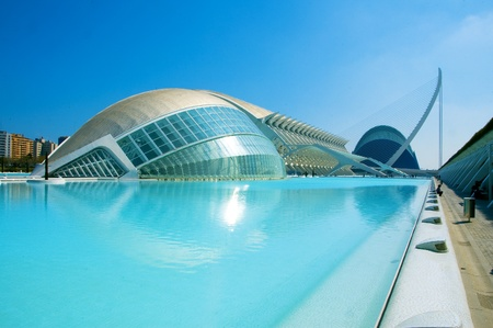 Valencia, Spain - March 17, 2010: The City of Arts and Sciences of Valencia, Spain