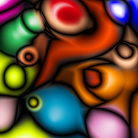 deformation: an abstract degraded background of different colors