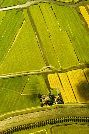 aerial view of a landscape in Netherlands Stock Photo - 8593964