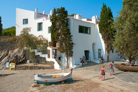 Cadaques, Spain - July 7, 2010: House-Museum Salvador Dali in Cadaques, Spain. This is the house were lived and worked the genius Salvador Dali. Stock Photo - 8722552