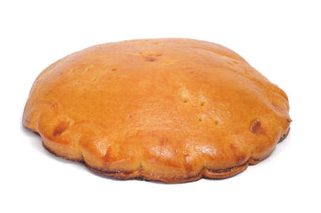 closeup of an empanada, a typical cake from Spain photo