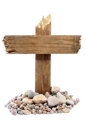 viacrucis: the cross of Jesus Christ on a white background
