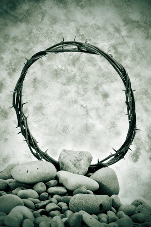 crown of thorns: a representation of the crown of thorns of Jesus Christ