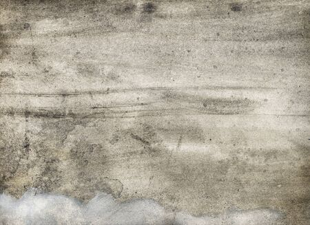 grey water: texture watercolor background Stock Photo