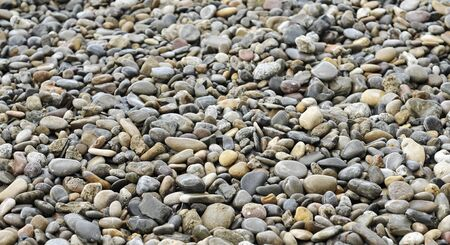 background made of a closeup of a pile of pebbles Stock Photo - 9712982