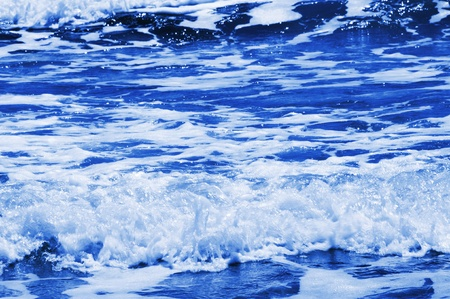 seawater: background of splash of seawater with sea foam and waves