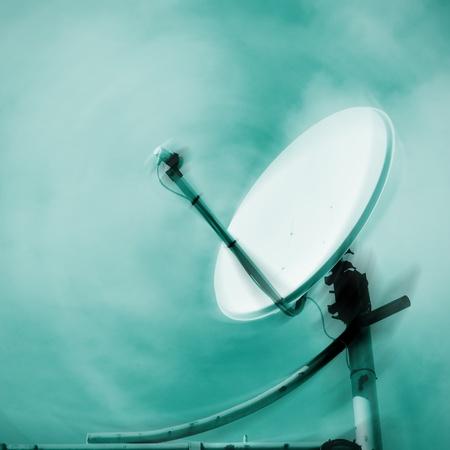 mass: closeup of a parabolic antenna