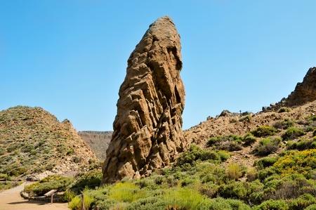 garcia: Roques de Garcia, in Teide National Park, Tenerife, Canary Islands, Spain Stock Photo