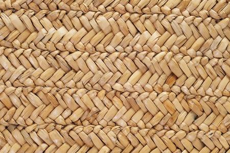 straw mat: background made of a closeup of a hemp wave