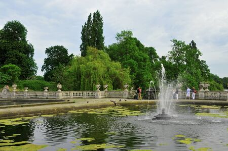 London, United Kingdom - May 7, 2011: Hyde Park in London, United Kingdom. Hyde Park, with 142 hectares (350 acres), is one of the largest parks in central London. Stock Photo - 11200771