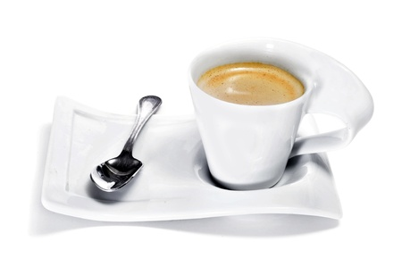 closeup of a delicious cup of coffee Stock Photo - 11549663