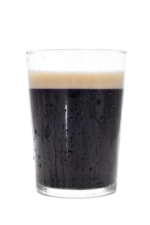 fizzy: a cup with cola soda on a white background Stock Photo