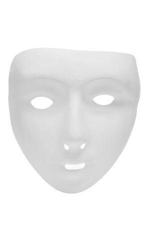 a carnival mask on a white background photo