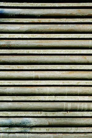 closeup of a rusty garage roller door Stock Photo - 12553877