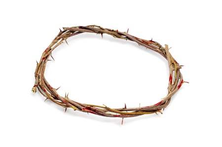viacrucis: a representation of the crown of thorns of Jesus Christ