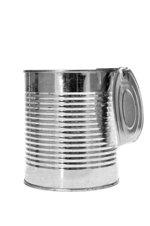 pantry: a can on a white background