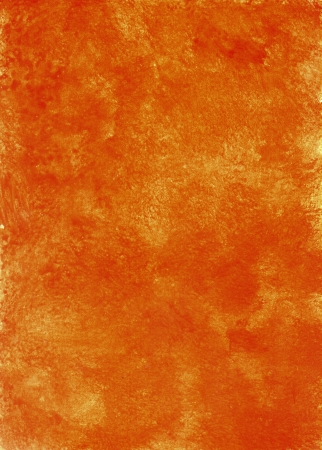 rusted background: orange textured watercolor background
