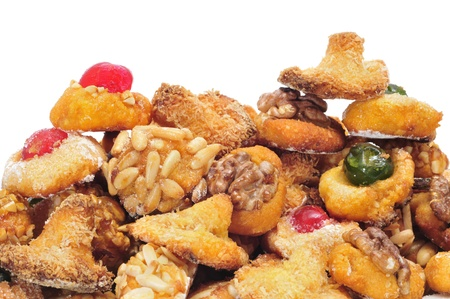 panellets: panellets, a typical pastry of Catalonia, Spain, in All Saints holiday