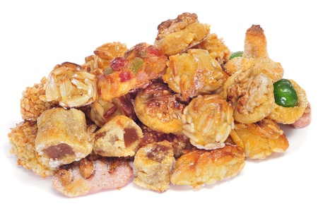 tots: panellets, typical pastries of Catalonia, Spain, eaten in All Saints Day