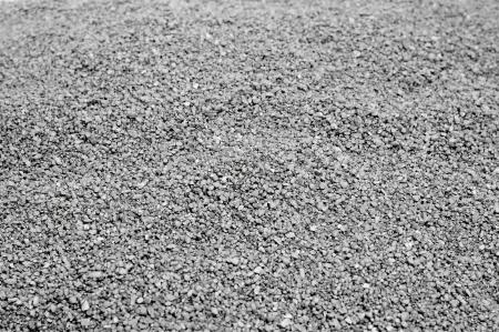 closeup of a pile of gray gravel Stock Photo - 16170127