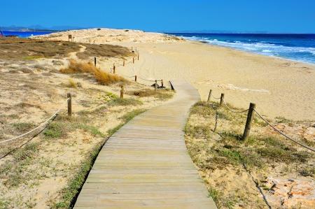 formentera: Ses Illetes Beach in Formentera, Balearic Islands, Spain