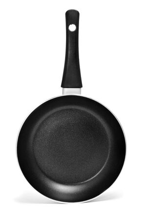 nonstick: a nonstick frying pan on a white background