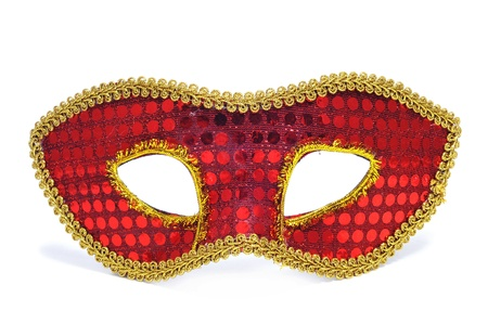 a carnival mask on a white background Stock Photo - 17553080