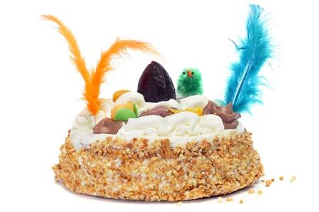 a mona de pascua, a typical spanish easter cake Stock Photo - 17681680