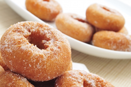closeup of a pile of rosquillas, typical spanish donuts Stock Photo - 18126827
