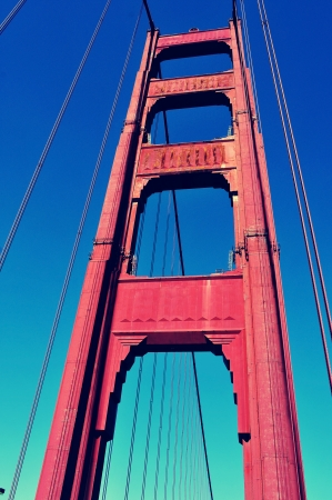 detail of Golden Gate Bridge in San Francisco, United States photo