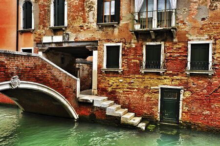 view of Ponte de la Corte Nova in Venice, Italy Stock Photo - 19365610
