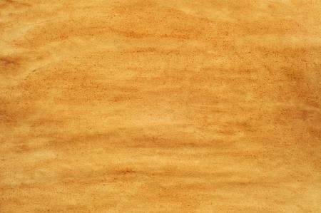 ocher: closeup of a yellowish old blank paper Stock Photo