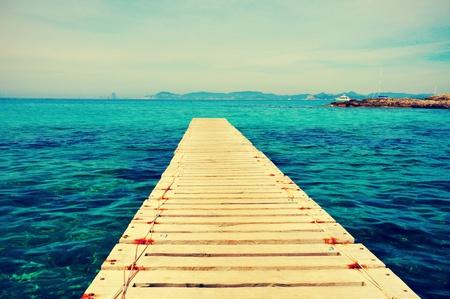 paseo mar?timo de Ses Illetes en Formentera Playa, Islas Baleares