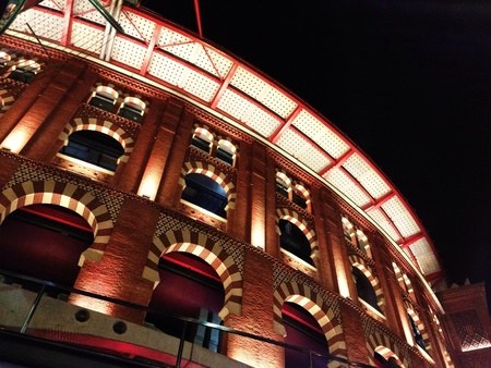 arenas: Las Arenas Mall in Barcelona Spain Stock Photo
