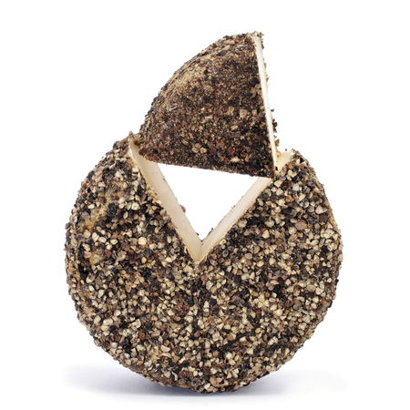coated: a handmade spice-coated cheese from Spain