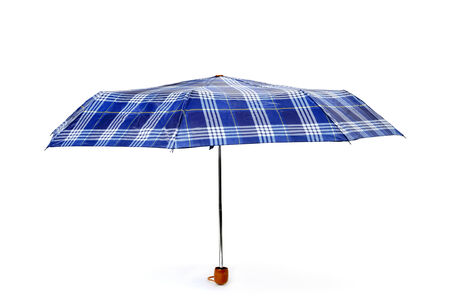 impermeable: an open umbrella on a white background