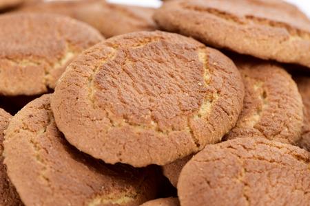 galletas: detalle de un montón de Campurrianas Galletas apetitosas, galletas típicas de España