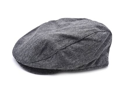 taxista: a gray flat cap on a white background