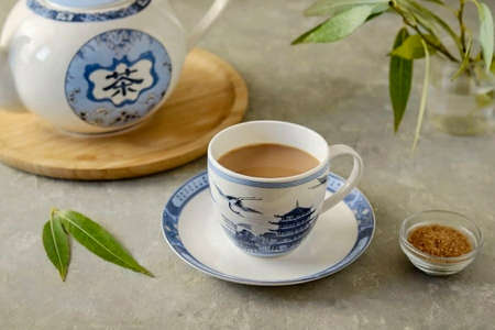 Asian tea is ready! It tastes not too spicy, but rather with a subtle spicy note. Enjoy your tea!
