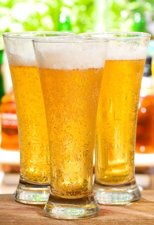 glasses of beer Stock Photo - 10100126