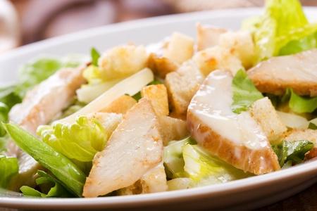ensalada cesar: Ensalada C�sar con pollo y verdes
