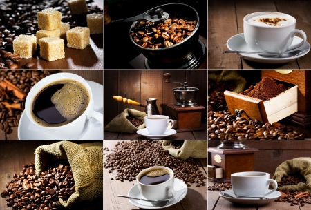 grinder: coffee collage