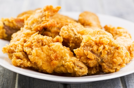 fried chicken on a plate
