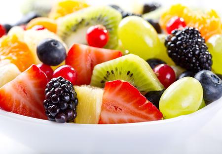 bowl of fruit salad photo