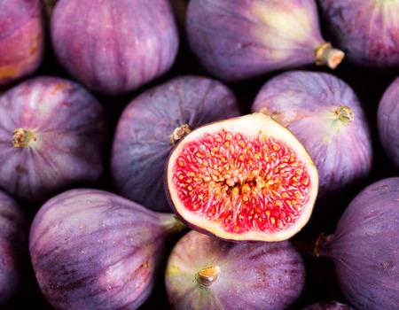 fresh fruit figs Banque d'images