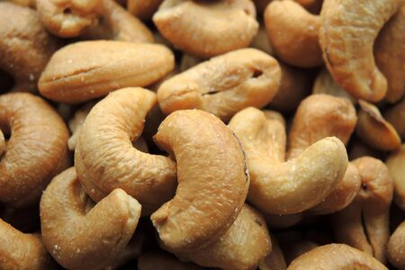 cashew tree: Roasted and salted cashew nut.