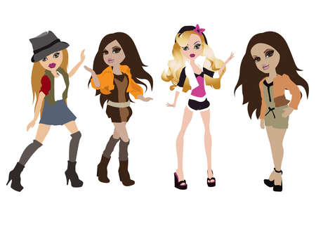 showgirls: party girls