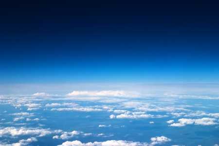 Niebo i chmury w tle Zdjęcie Seryjne